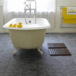 bathroom flooring ideas for small bathrooms with stylish grey wood laminated bathroom floor