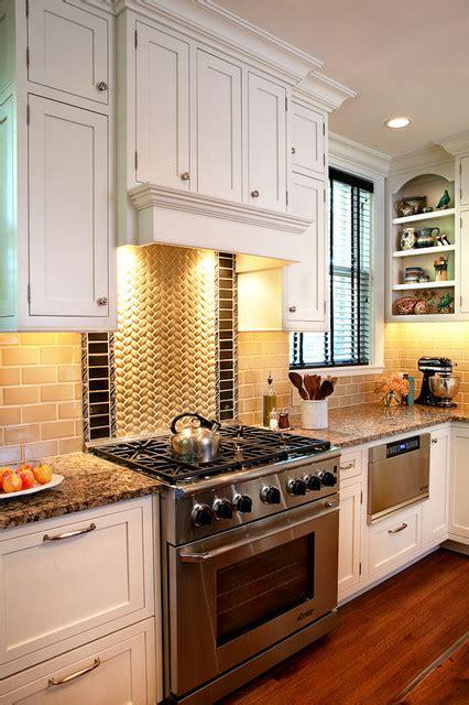 white kitchen with basket weave backsplash renovation st