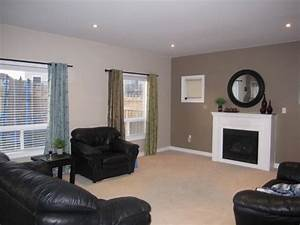 walls are painted benjamin moore dufferin terrace and With accent wall designs living room