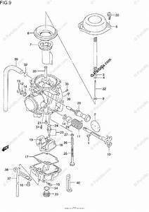 Suzuki Motorcycle 1990 Oem Parts Diagram For Carburetor