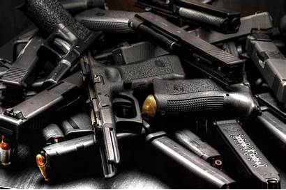 Guns Police Confiscated Cartel Gun Pile Believes