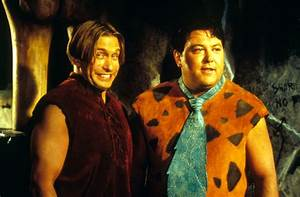 Photo: Barney Rubble (Stephen Baldwin) şi Fred Flintstone ...