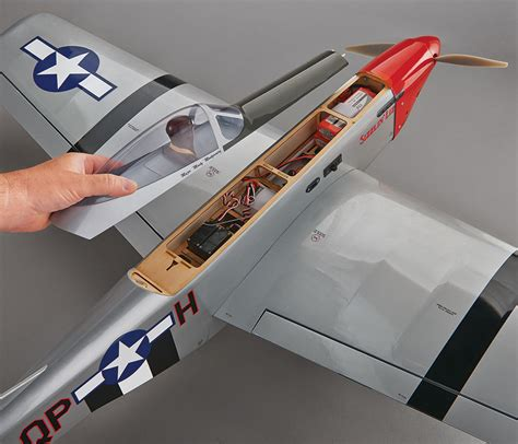 Brand New Great Planes P51 Sport Fighter Gpep Arf