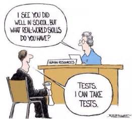 you need more than the ability to take standardized tests