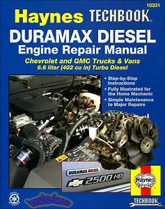Chevrolet Silverado Diesel Engine Shop Manual Service