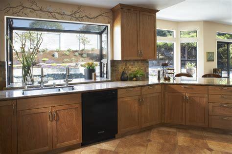 Kitchen Window Backsplash by Garden Windows For Kitchens Kitchen Tropical With Bay