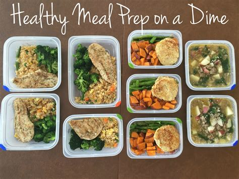 meals for healthy meal prep on a dime sssyrah