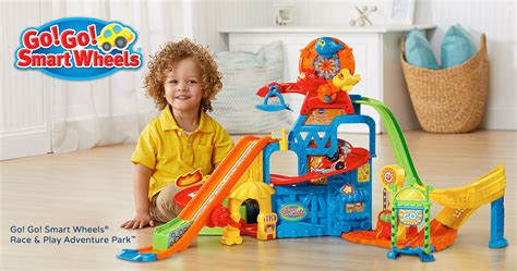 Vtech® Drives Exciting New Go! Go! Smart Wheels® Toys Into