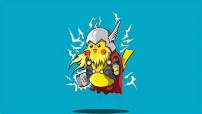 Wallpapers 4k Thor Pikachu Pokemon Pixel4k Kaynak