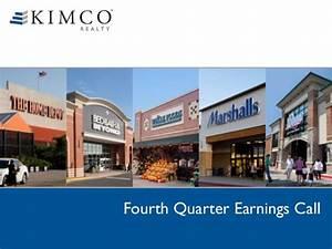 Kimco 4th Quarter 2013 Earnings