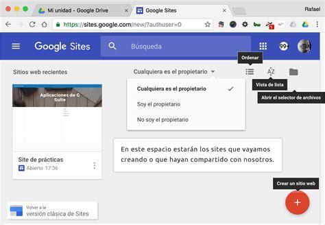 free google sites nueva versi 243 n de sitesayuda g suite para educaci 243 n ayuda g suite para educaci 243 n