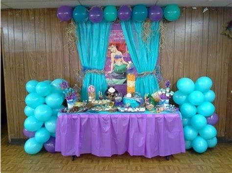 backdrop mermaid party decorations mermaid birthday