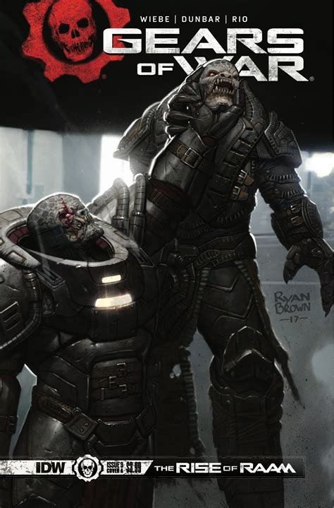 Gears Of War The Rise Of Raam 3 Idw Publishing