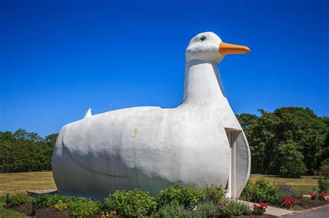 Big Duck In Flanders On Long Island, New York Editorial