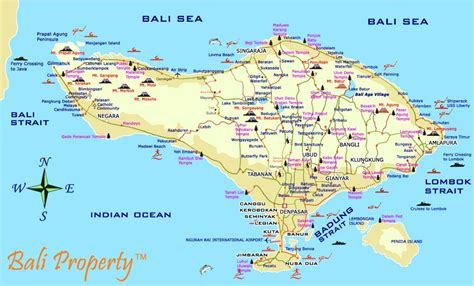 bali weather forecast  bali map info detail pura