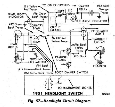 Position Headlight Switch Wiring Ford Truck
