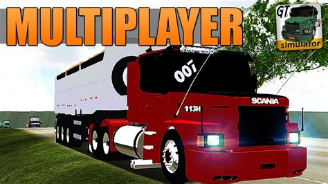 grand truck simulator multiplayer skin para scania 113h
