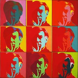 MoMA | Andy Warhol. Self-Portrait. 1966