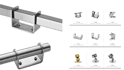 This pattern pipe is valued in the industry owing to its atheistic appeal. Steel Railing Fittings/glass Railing Fittings/stainless Steel Boat Rail Fittings - Buy Steel ...