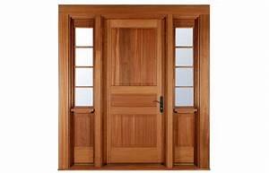 Porte de bois d39entree lepage millwork for Porte de garage avec porte interieur en bois massif
