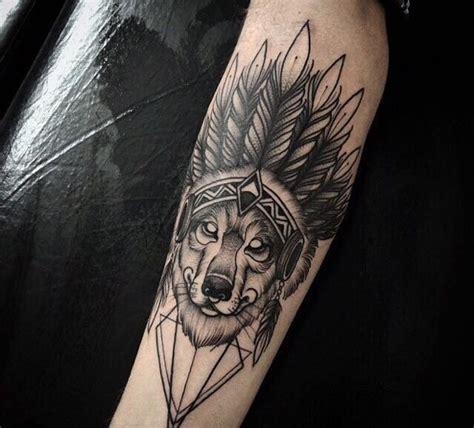 indian wolf tatuagemcom tatuagens tattoo