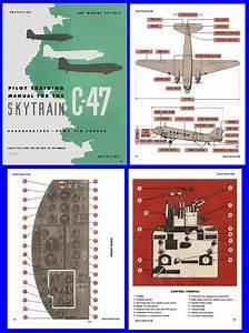 C47 Dc3 Dakota Pilots Training Manual Ww2