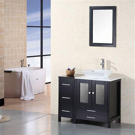 single sink vanity ballard 36 quot single sink vanity set zuri furniture