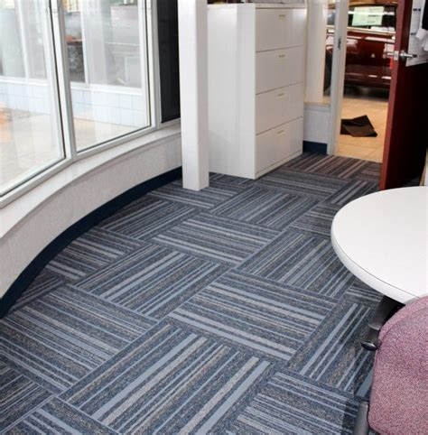 commercial carpet tile installation in woodhaven jabro