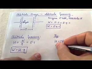 Plattenkondensator Kapazität Berechnen : elektrische feldst rke berechnen doovi ~ Themetempest.com Abrechnung