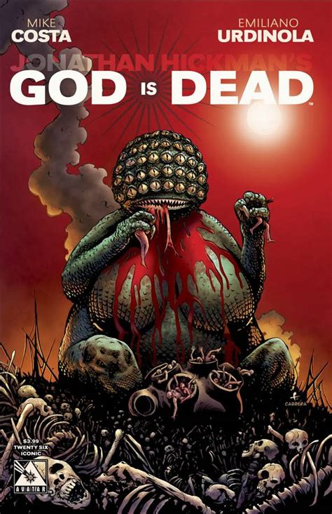 god  dead  iconic cover fresh comics