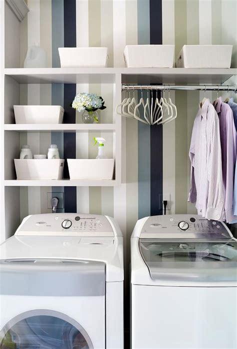 shelves  washer dryer design ideas