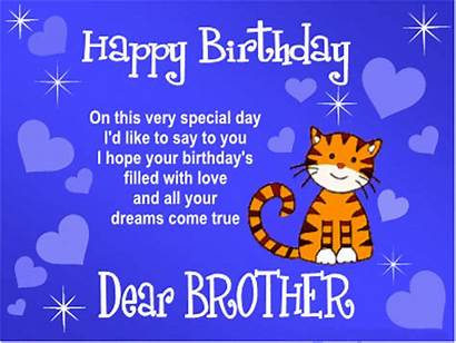 Birthday Happy Wishes Brother Greetings