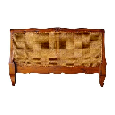 Antique Style Headboards by Antique Louis Xv Rattan Headboard Working Well With