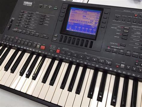yamaha keyboard psr yamaha psr 6000 keyboard in blackburn lancashire gumtree