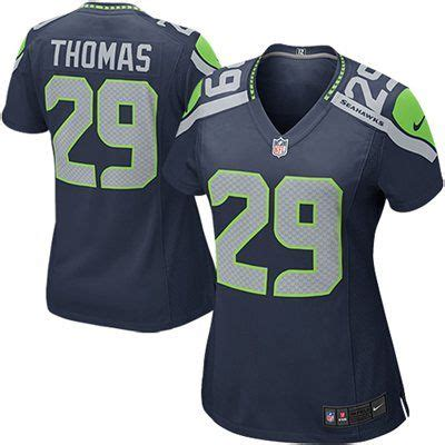 nike womens seattle seahawks earl thomas game team color