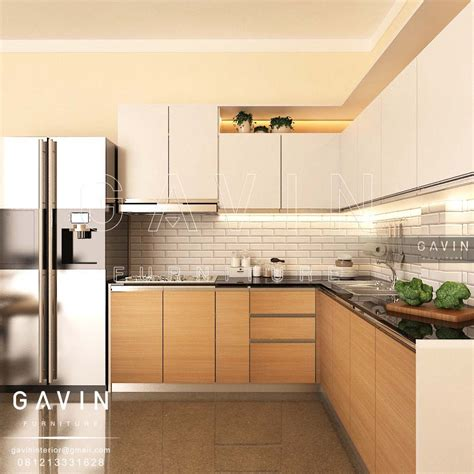 design kitchen set minimalis pembuatan design kitchen set minimalis hpl di ciputat 6577