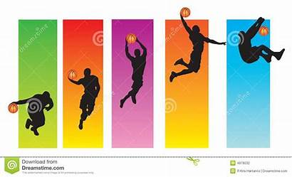Sequence Basketball Clipart Clip Poster Player Jumping