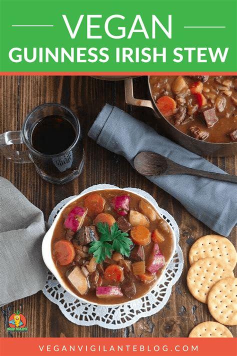 vegan guinness irish stew recipe vegan dinners easy