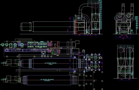 cuisine industrie food industry camar dwg section for autocad designs cad