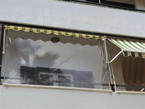 Balkon Wintergarten Folie durchsichtiges folienrollo f 252 r terrassen als ma 223 anfertigung