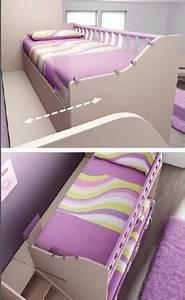 Lit Superposé Escalier : lit superpos haut avec escalier lh24 personnalis ~ Premium-room.com Idées de Décoration
