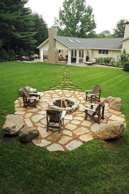 Backyard Pit Landscaping Ideas by 19 Impressive Outdoor Pit Design Ideas For More