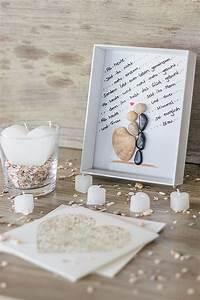 Ideen Für Hochzeitsgeschenke : diy bilderrahmen zur hochzeit mit brautpaar aus steinen kleine geschenke pinterest ~ Eleganceandgraceweddings.com Haus und Dekorationen
