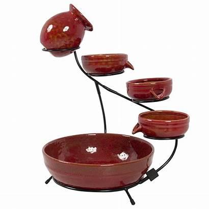Water Choice Fountain Ceramic Solar Garden Standing