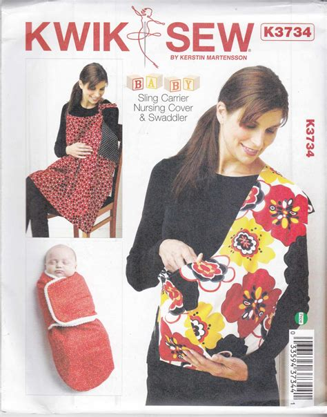 Kwik Sew Sewing Pattern 3734 Newborn Baby Accessories