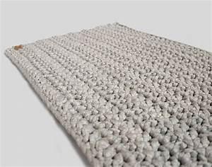 Teppich Selber Häkeln : geh kelter l ufer badematte teppich grau stricken h keln co teppich h keln h keln und ~ A.2002-acura-tl-radio.info Haus und Dekorationen