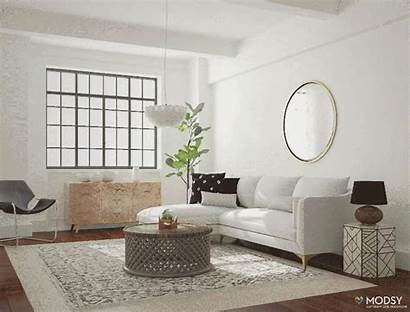 Living Eclectic Modsy Interior Mix Multiple Services