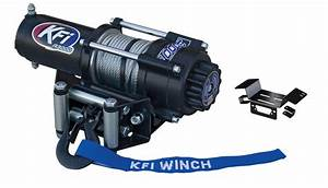 Kfi 3000 Lb Winch And Mount Kit For Honda Pioneer 700