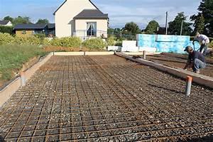 dalle la triskeline With faire une dalle de beton pour garage
