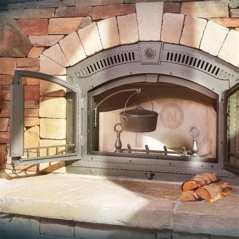 napoleon nz high country wood burning fireplace